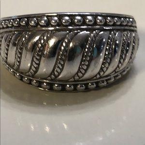 Size 8 Judith Ripka 925  ring